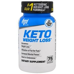 БПА Спортс, Keto Weight Loss, 75 Capsules отзывы