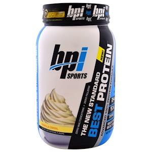 БПА Спортс, Best Protein, Advanced 100% Protein Formula, Vanilla Swirl, 2.0 lbs (896 g) отзывы