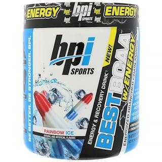 BPI Sports, 에너지와 함께 최고의 BCAA , 레인보우 아이스, 8.8 oz (250 g)