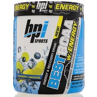 BPI Sports, Best BCAA with Energy, 블루베리, 레모네이드, 8.8 oz (250 g)