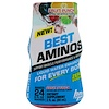 BPI Sports, Best Aminos, Liquid Water Enhancer, Fruit Punch, 2 fl oz (60 ml)
