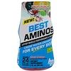 BPI Sports, ベストアミノ、リキッドウォーターエンハンサー、フルーツポンチ、2 fl oz (60 ml)
