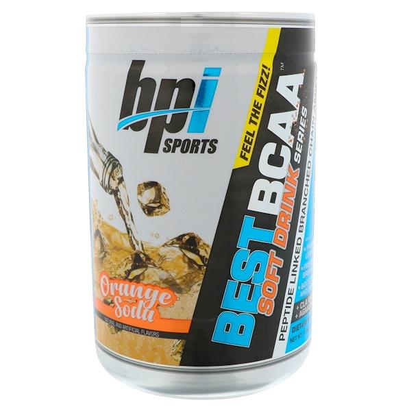 BPI Sports, 最好的支鏈氨基酸軟飲料系列,香橙蘇打口味,11、64 盎司(330 克)