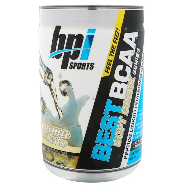 BPI Sports, Best BCAA Soft Drink Series, Cream Soda, 11.64 oz (330 g)