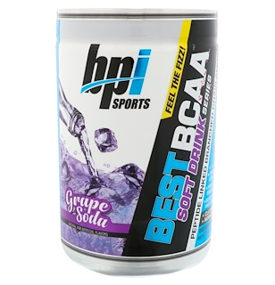 BPI Sports, Best BCAA Soft Drink Series, Grape Soda, 11.64 oz (300 g)