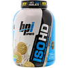 BPI Sports, ISO HD, 100% proteína pura aislada, Galletita de vainilla, 4.8 lbs (2170 g)