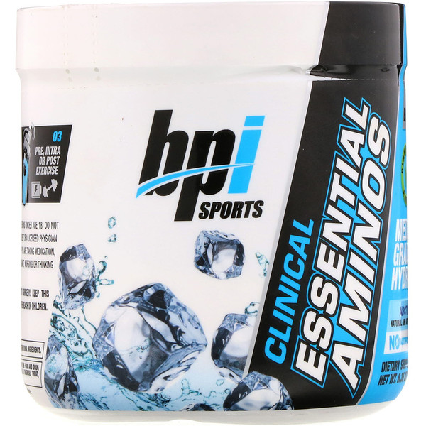 BPI Sports, Aminoácidos esenciales Clinical, hielo ártico, 180 g (6,35 oz) (Discontinued Item)