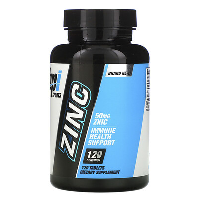 Купить BPI Sports Zinc, 50 mg, 120 Tablets