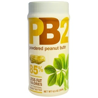 PB2 Foods, PB2, Powdered Peanut Butter, 6.5 oz (184 g)