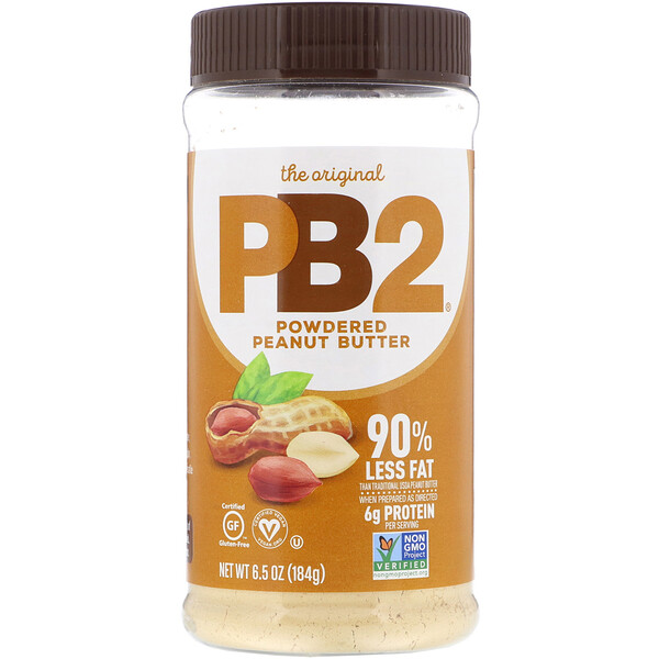 PB2 Foods, The Original PB2, Powdered Peanut Butter, 6.5 oz (184 g)