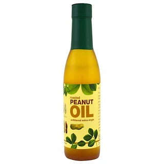 Bell Plantation, Roasted Peanut Oil, Unfiltered Extra Virgin, 12.3 fl oz (363 ml)