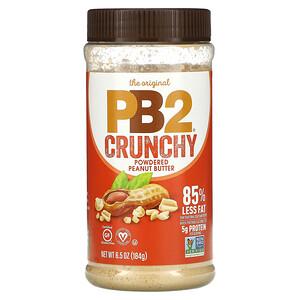 PB2 Foods, Crunchy Powdered Peanut Butter, 6.5 oz (184 g)'