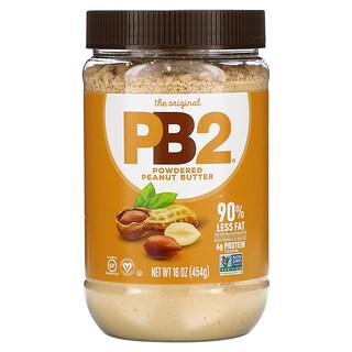 PB2 Foods, The Original PB2, Powdered Peanut Butter, Erdnussbutter-Pulver, 454g (16oz.)