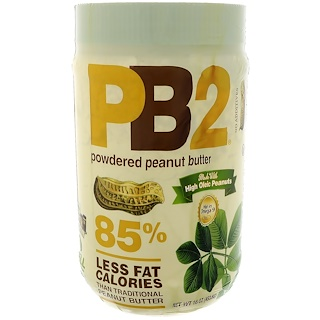 PB2 Foods, PB2, Powdered Peanut Butter, 16 oz (453.6 g)