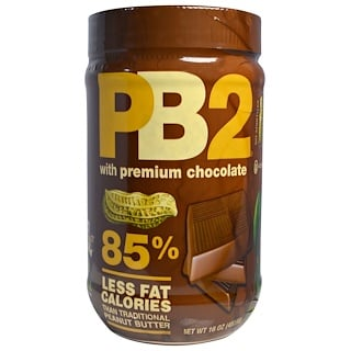 Bell Plantation, PB2, con chocolate premium, 16 oz (453,6 g)