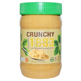 Bell Plantation, Plantation 1883, Old Fashion Peanut Butter, Crunchy, 16 oz (454 g)