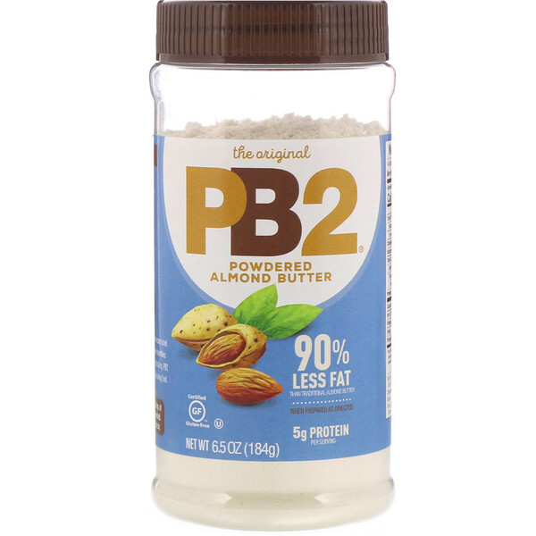 The Original PB2, Powdered Almond Butter, 6.5 oz (184 g)
