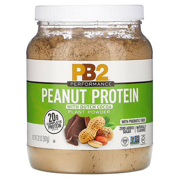 Peanut Protein with Dutch Cocoa, 32 oz (907 g)