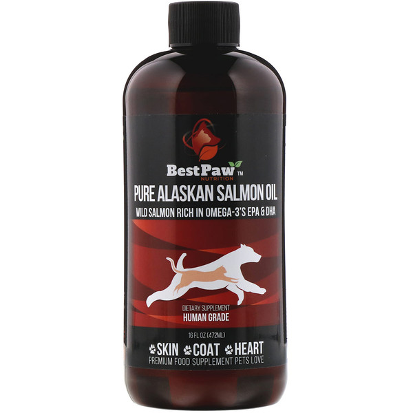 Best Paw Nutrition, Pure Alaskan Salmon Oil, 16 fl oz (472 ml)