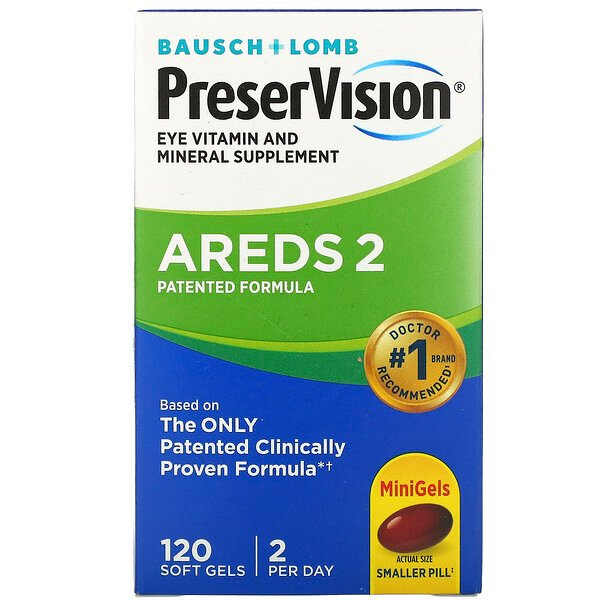 PreserVision, Eye Vitamin and Mineral Supplement, 120 Soft Gels