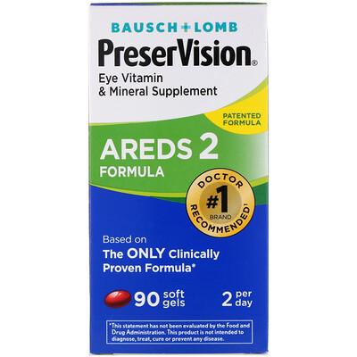 Купить Формула AREDS 2, 90 мягких желатиновых капсул