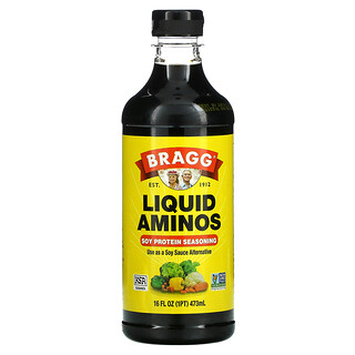 Bragg, Liquid Aminos, Soy Protein Seasoning, 16 fl oz (473 ml)