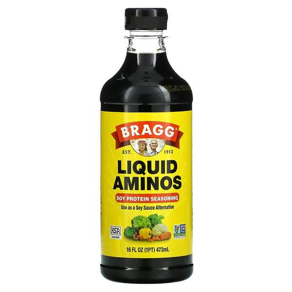 Bragg, 营养酱料,大豆蛋白质调味料,16 液量盎司(473 毫升)