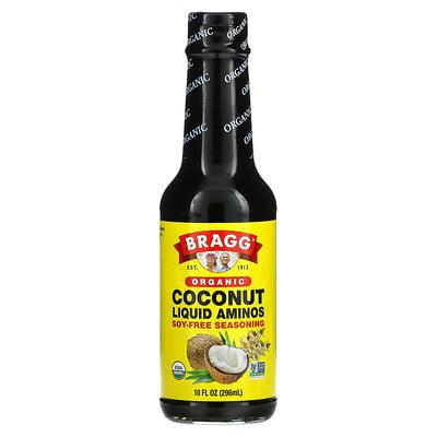 Bragg Organic Coconut Liquid Aminos, Soy-Free Seasoning, 10 fl oz (296 ml)