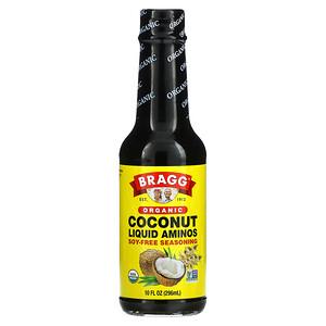 Bragg, Organic Coconut Liquid Aminos, Soy-Free Seasoning, 10 fl oz (296 ml)
