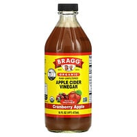 Bragg, Organic Apple Cider Vinegar, Cranberry Apple, 16 fl oz (473 ml)