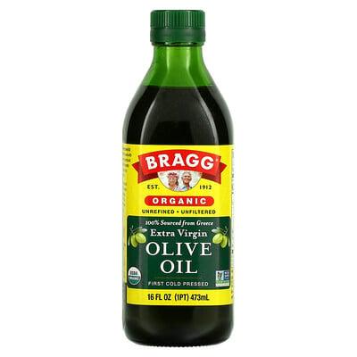 Bragg Organic Extra Virgin Olive Oil, 16 fl oz (473 ml)