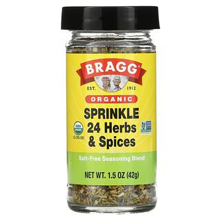 Bragg, Organic, Sprinkle 24 Herbs & Spices Seasoning, 1.5 oz (42 g)