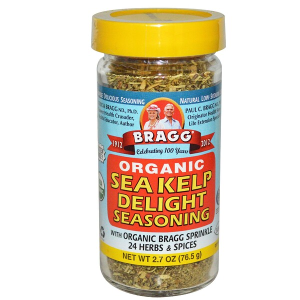 Bragg, Organic Sea Kelp Delight Seasoning, 2.7 oz (76.5 g) (Discontinued Item)
