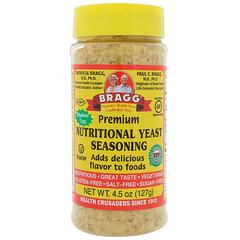Bragg, Premium Nutritional Yeast Seasoning, 4.5 oz (127 g)