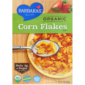 Барбарас Бэйкари, Organic Corn Flakes Cereal, 9 oz (255 g) отзывы
