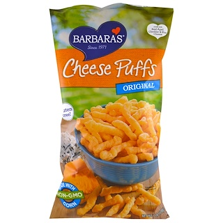 Barbara's Bakery, Cheese Puffs, Original, 7 oz (198 g)
