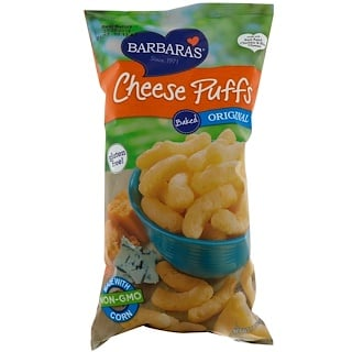 Barbara's Bakery, Baked Cheese Puffs, Original, 5.5 oz (155 g)