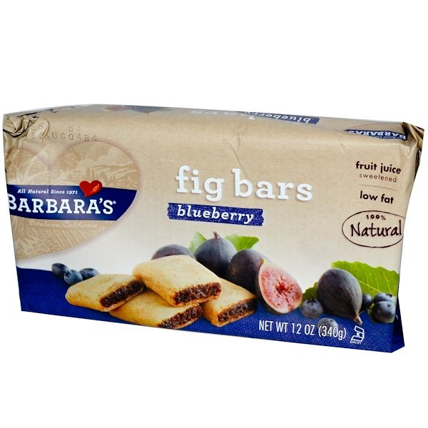 Barbara's Bakery, Fig Bars, Blueberry, 12 oz (340 g)  (Discontinued Item)