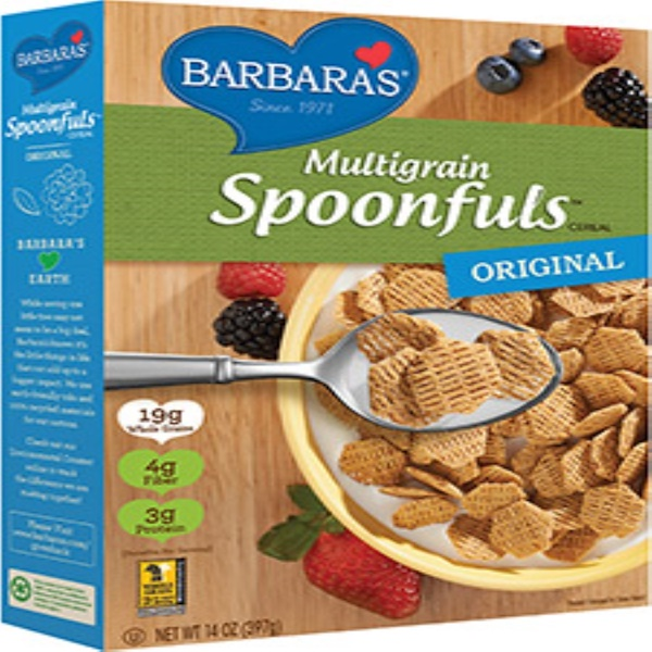 Barbara's Bakery, Multigrain Spoonfuls Cereal, Original, 14 oz (397 g) (Discontinued Item)