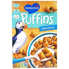 Barbara's Bakery, Puffins Cereal, Original, 10 oz (283 g)