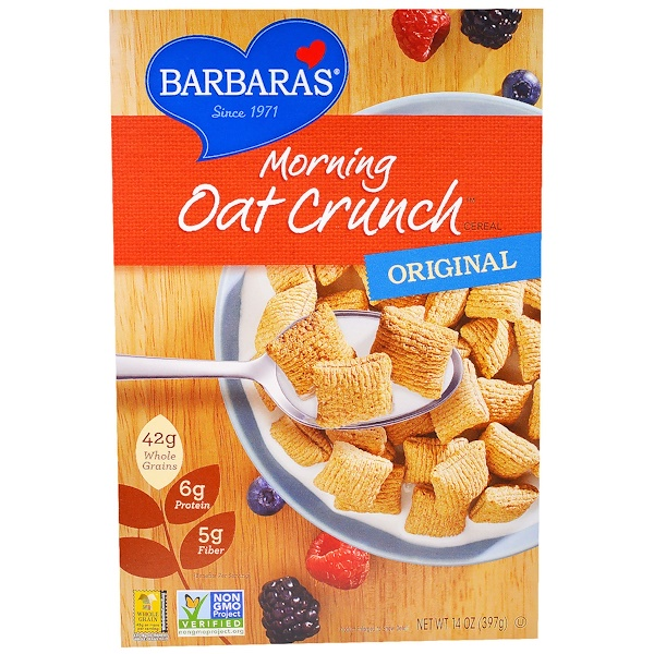 Barbara's Bakery, Morning Oat Crunch Cereal, Original, 14 oz (397 g) (Discontinued Item)