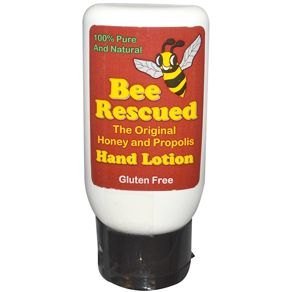 Bee Rescued, The Original Honey and Propolis Hand Lotion, 2.5 fl oz (Discontinued Item)