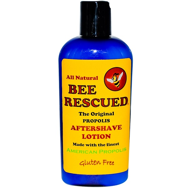 Bee Rescued, The Original Propolis Aftershave Lotion, 4 fl oz (Discontinued Item)