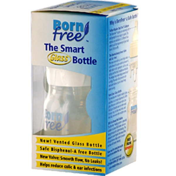 Born Free, The Smart Glass Bottle, 9 fl oz (260 ml) Bottle (Discontinued Item)