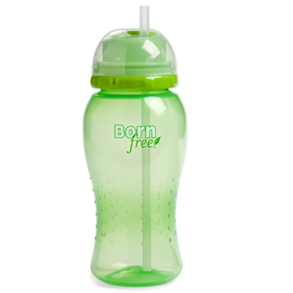 Born Free, Twist'n Pop Straw Cup, 18m+, Green, 14 oz (410 ml) (Discontinued Item)