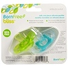 Born Free, Bliss, Silicone Pacifier, 6m+, 2 Pack