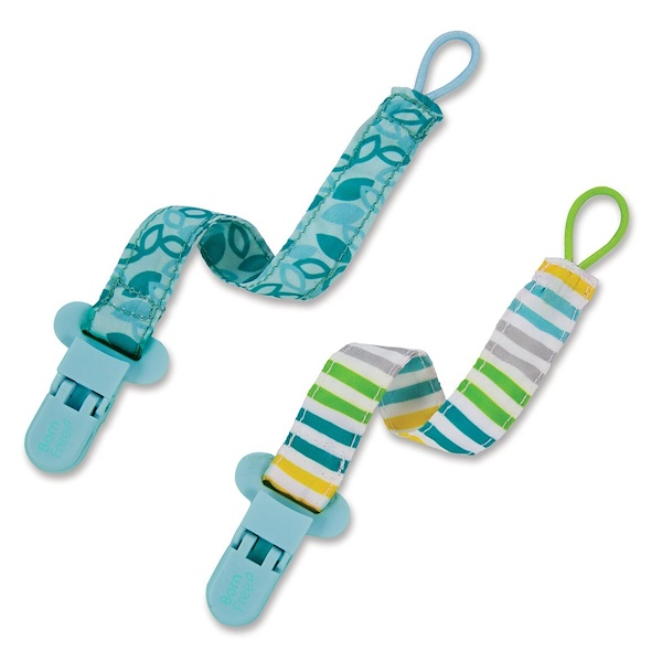 Born Free, Bliss, Pacifier Holder, 2 Pack (Discontinued Item)