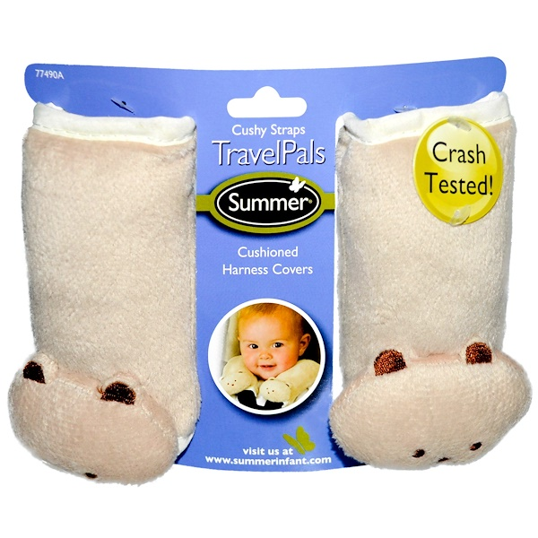 Born Free, Cushy Straps Ivory Teddy Bear, 1 ct (Discontinued Item)