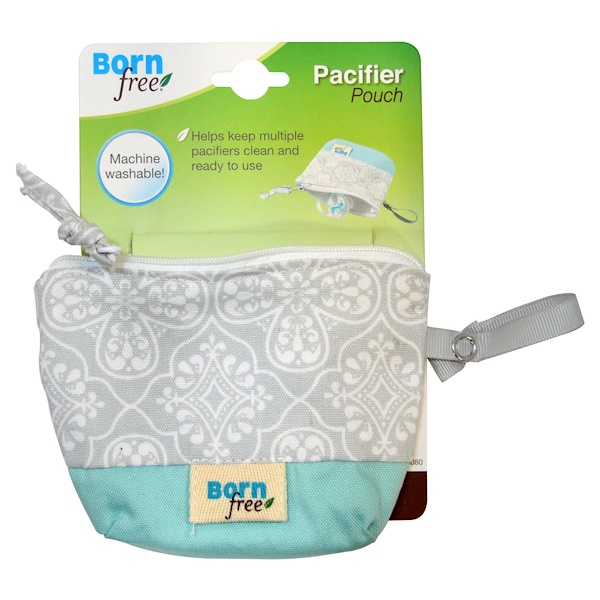 Born Free, Pacifier Pouch, 1 Pouch (Discontinued Item)