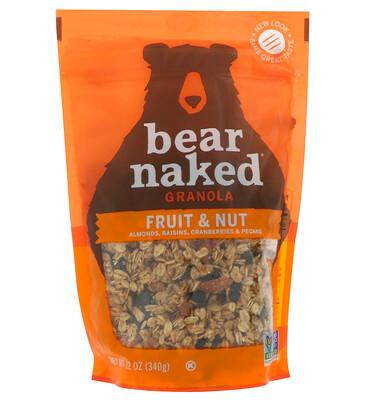 Купить Bear Naked На 100% чистая и природная гранола, фрукты и орехи, 12 унций (340 г)